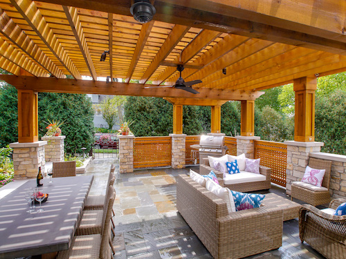 Even With Our Chicago Climate, There Are Plenty Of Opportunities To Enjoy  The Outdoors. A Family In Downers Grove Had Us Design And Build ...