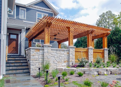 Their New Patio/pergola Project Was Originally Designed To Have A Pizza  Oven And Outdoor Fireplace. However, Due To A Quirky Provision In The Local  Zoning ...